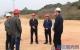 刘钦调研大浦高速灵山段和灵山大道项目建设情况