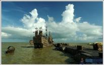 三娘湾-<<沧海丝路>>拍摄现场
